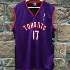 Percy Master P Miller vintage Toronto Raptors Champion NBA jersey