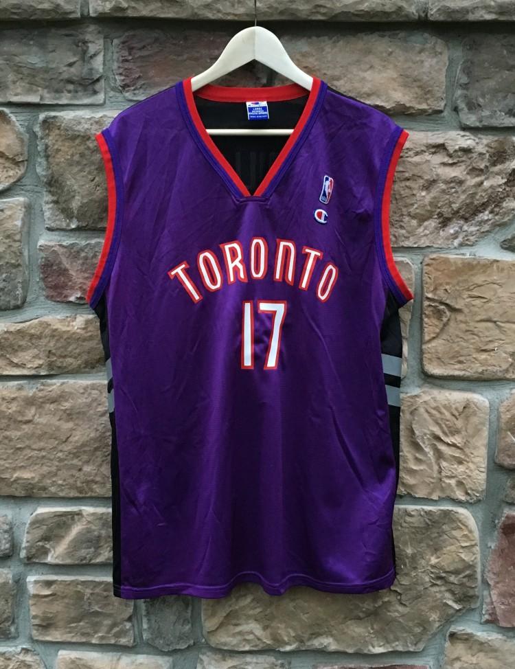 "1999 Percy ""Master P"" Miller Toronto Raptors Champion NBA Jersey ... 185978ad7"