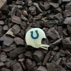 Vintage 80's Baltimore Colts Helmet lapel pin