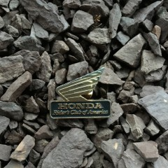 vintage 90's Honda Racing Lapel pin