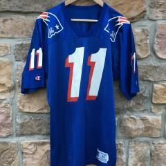 vintage Drew Bledsoe New England Patriots Champion NFL jersey