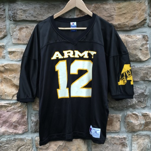 vintage Army Champion NCAA football jersey size XL