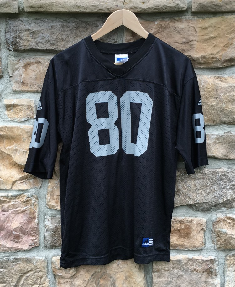 buy online 04ac5 8c97a 2001 Jerry Rice Oakland Raiders Adidas NFL Jersey Youth XL