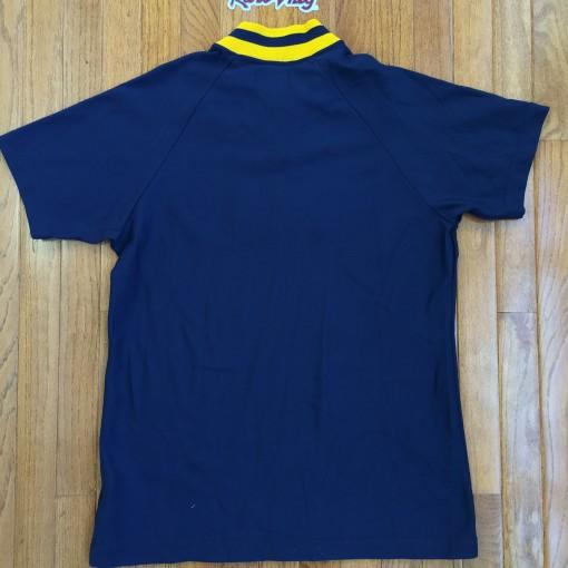 1982 Denver Nuggets Sandknit Nba Warmup Shooting Shirt