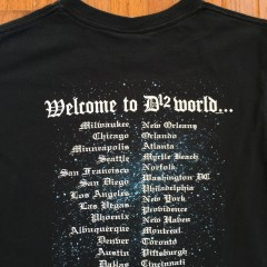 Vintage D12 World Rap T shirt