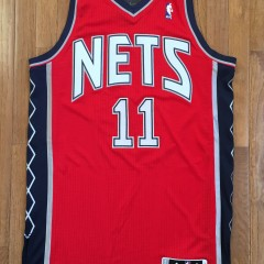Brook Lopez Authentic New jersey Nets Revolution 30 NBA Adidas jersey size large