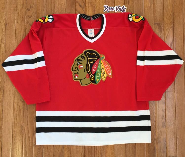 0d3f135dc vintage 90's Chicago Blackhawks CCM Nhl hockey jersey size large