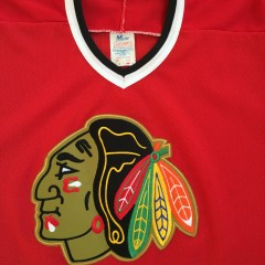 Vintage Red blackhawks jersey