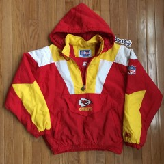Vintage Kansas City Chiefs Starter Jacket size medium