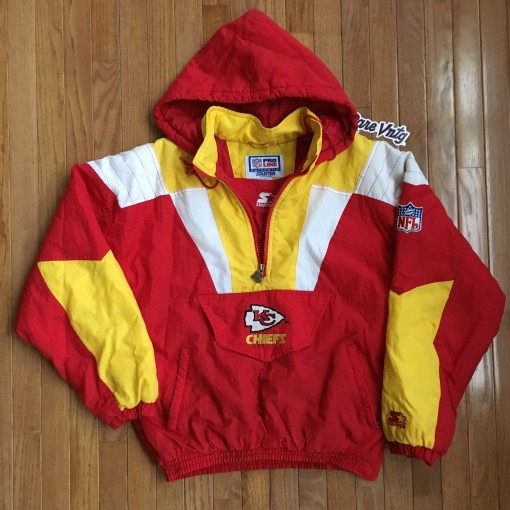 Vintage Kansas City Chiefs Starter Jacket size medium