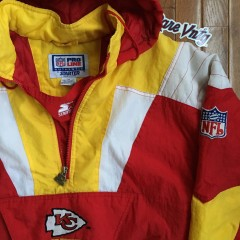 Size medium starter Chiefs jacket
