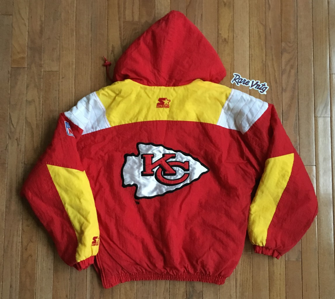 Vintage Kansas City Chiefs Starter NFL Pullover Jacket Size Medium