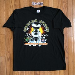 Vintage Dallas Stars 1999 Stanley Cup Champions T shirt