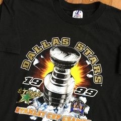 1999 Stanley Cup Champs Dallas Stars T shirt