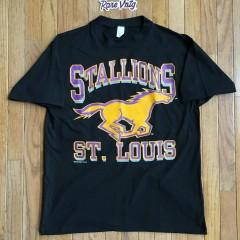 vintage 1993 St. Louis Stallions NFL T shirt size large