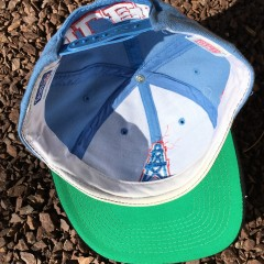 vintage American Needle Houston Oilers Snapback