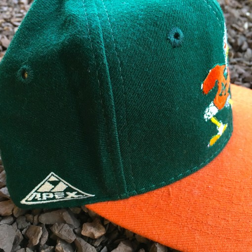 Vintage Apex One NCAA Snapback Hat