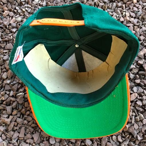 90's Miami Hurricanes Deadstock snapback hat
