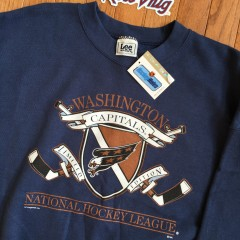 90's Washington Capitals crew neck XL