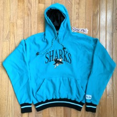 Vintage San Jose Sharks The Game Hoody