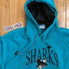 Vintage 90's San Jose Sharks Hoody