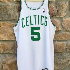 game worn 1997-98 ron mercer boston celtics nike jersey size 48+ 3