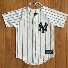 Vintage New York Yankees Derek Jeter Jersey Youth Small