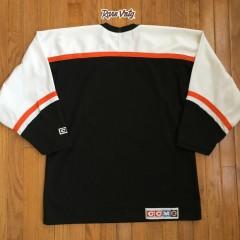 blank flyers black jersey
