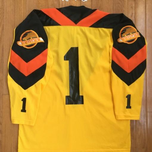 Vintage Vancouver Canucks Glen Hanlon jersey