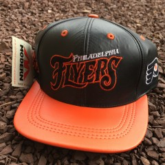 Vintage Philadelphia Flyers Leather Snapback hat