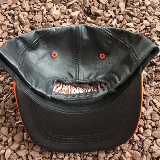 90's Leather NHL Snapback hat