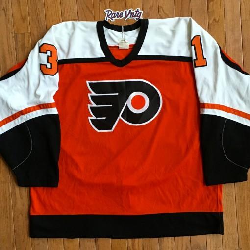 1985 Philadelphia Flyers Pelle Lindbergh Jersey size 52