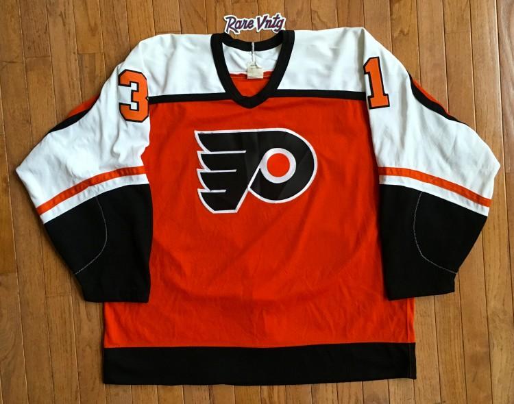 cheap for discount feb09 8d7d9 1985 Pelle Lindbergh Philadelphia Flyers Authentic CCM NHL Jersey Size 52
