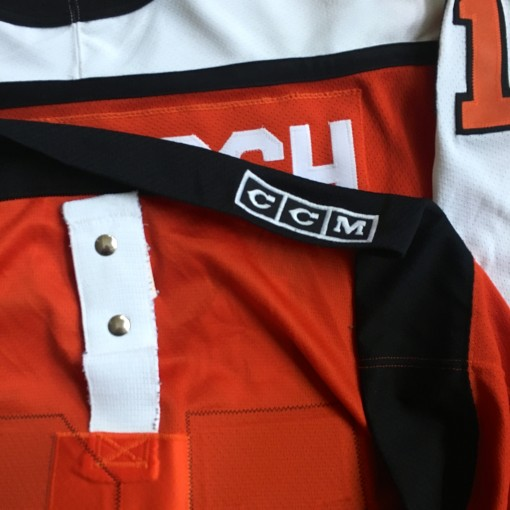 Vintage 80's Authentic Philadelphia Flyers jersey