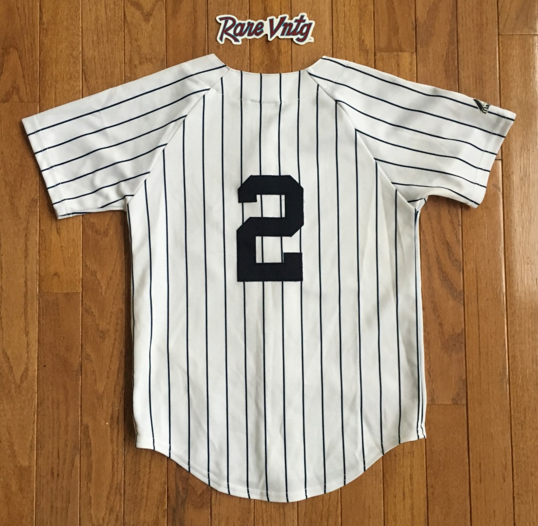 eb47c9e5c Derek Jeter NY Yankees Majestic MLB Jersey Youth Size Small