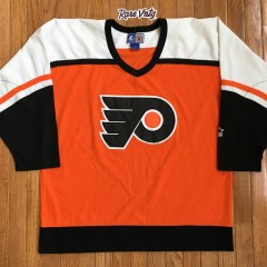 Vintage Orange 90's Philadelphia Flyers Starter NHL Jersey size large
