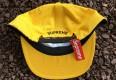 Deadstock Supreme ESP 6 Panel Hat yellow FW 15