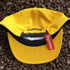 8ec0785695e Deadstock Supreme ESP 6 Panel Hat yellow FW 15