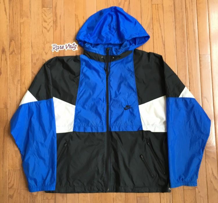 806adc4756 90 s Nike Colorblock vintage windbreaker jacket size XL