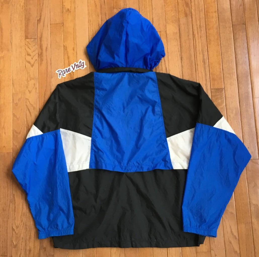55ce20189f 90 s Nike Black Blue White Windbreaker Jacket Size XL
