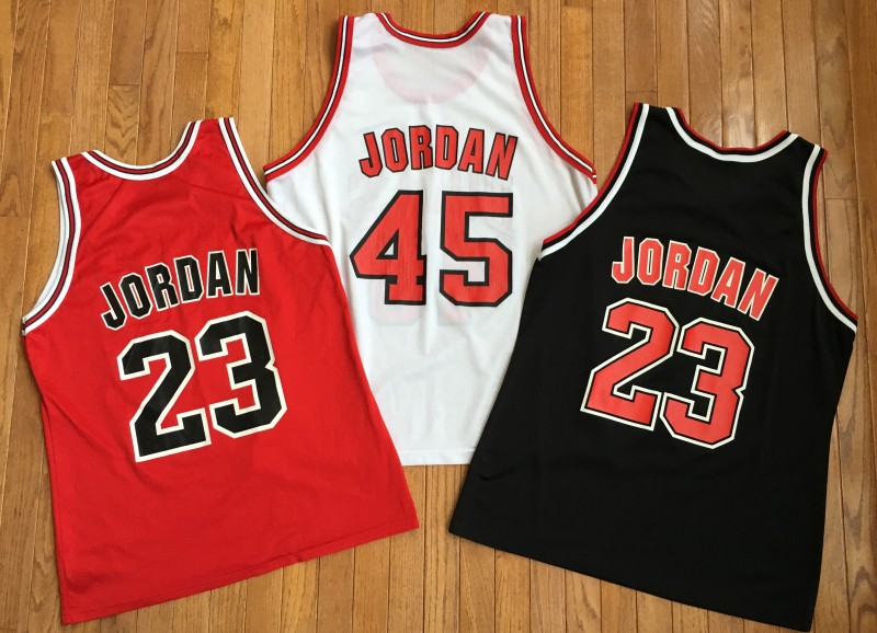 9991be18aeb3f3 Vintage Michael Jordan Jersey Champion Chicago Bulls