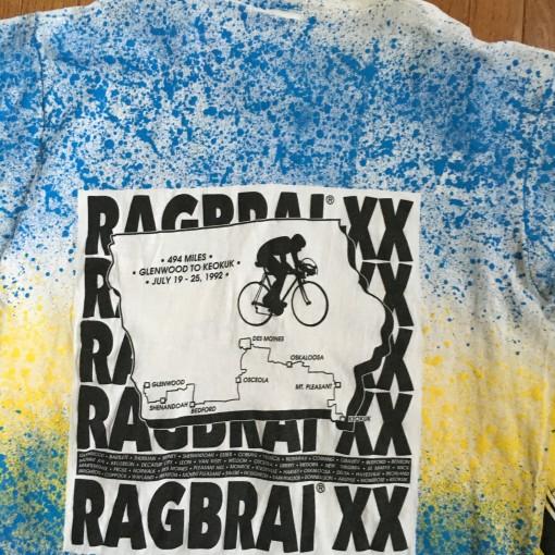 Vintage 90's Ragbrai Biking T shirt