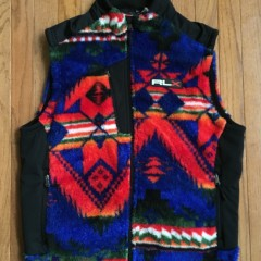 Polo Ralph Lauren Beacon Fleece Vest size large