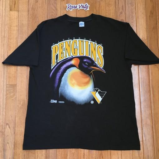 Vintage 1992 Pittsburgh Penguins NHL T shirt
