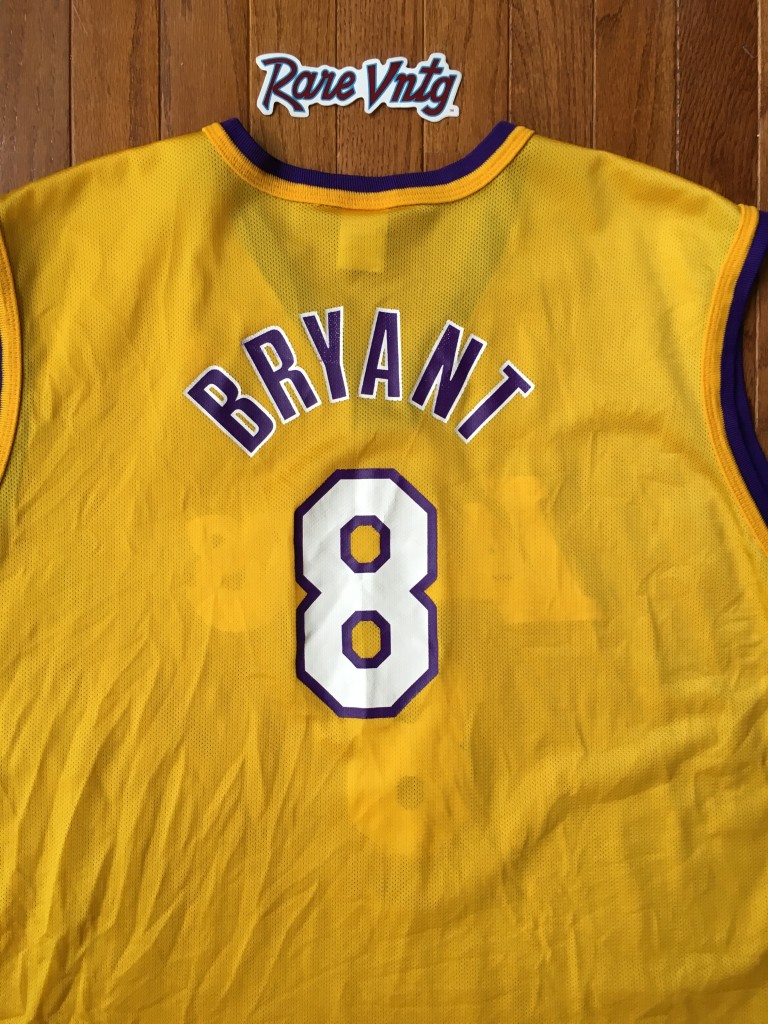 e4ec19f28c2 2000 Kobe Bryant Los Angeles Lakers Champion NBA Jersey Size 48 ...