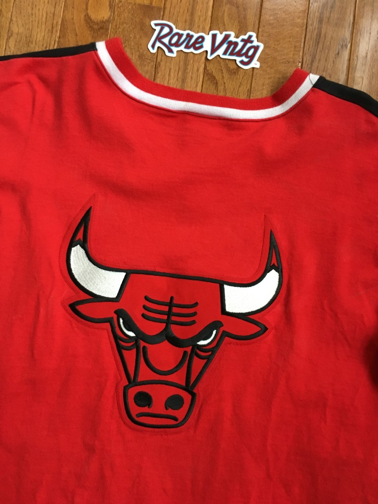 45ce717d179fc0 90's Chicago Bulls Authentic Champion NBA Shooting Shirt Size XL ...