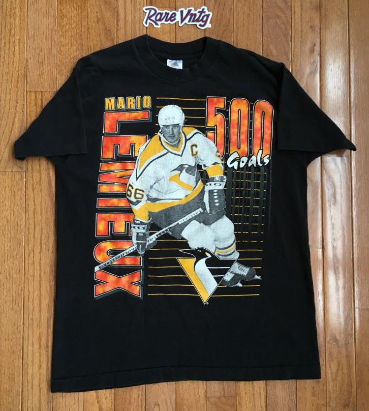 huge selection of 2f260 31db0 1995 Mario Lemieux 500 Goals Pittsburgh Penguins NHL T Shirt
