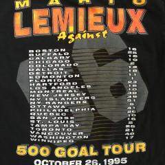 500 Goal Tour Lemieux T shirt