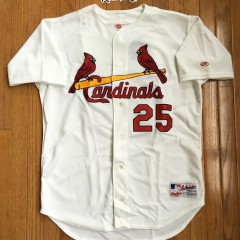 Vintage Mark McGwire Authentic St. Louis Cardinals jersey size 44 large