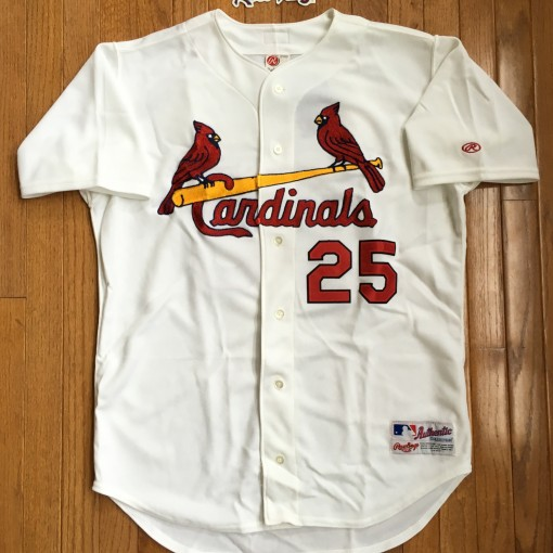 Vintage Mark McGwire Authentic St. Louis Cardinals jersey size 44 large